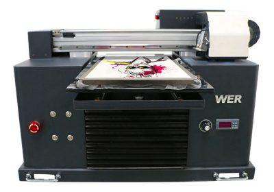 Impresora dtg tipo camiseta plana multicolor de tamaño a3