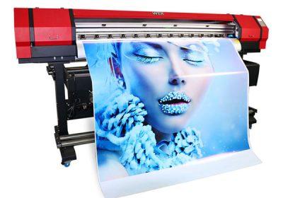 Impresora de vinilo de pvc pvc pequeña solvente eco exterior de 1,6 m